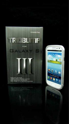 Samsung Galaxy S iii s3 Silver CNC aluminum bumper case cover metal i9300 new