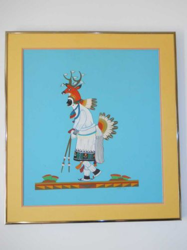 Painting Title Deer Dancer