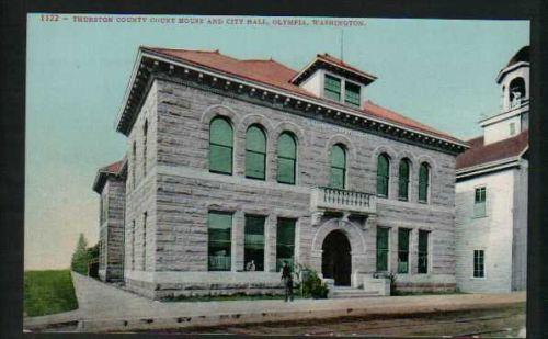 Thurston County Court House and City Hall, Olympia, Washington