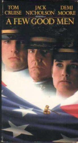 A FEW GOOD MEN - Tom Cruise, Demi Moore ( VHS )