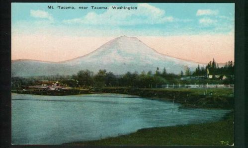 Mt. Tacoma, near Tacoma, Washington