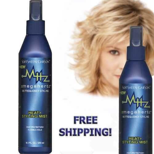 2 bottles of SoftSheen - Carson MHz Hair Styling Mist Sculpting Spray 8.5 oz NEW