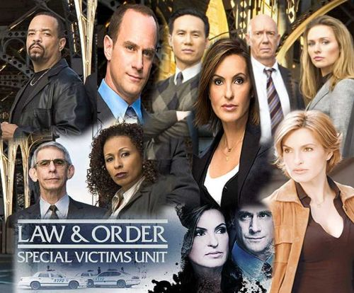 Law and Order SVU Mousepad
