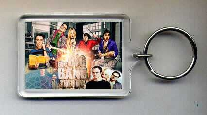 Big Bang Theory Keyring