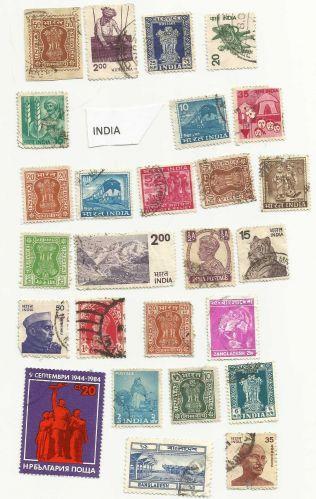 INDIAN STAMP SET 1