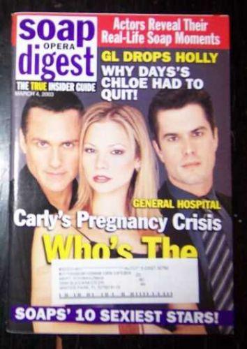 Soap Opera Digest Magazine