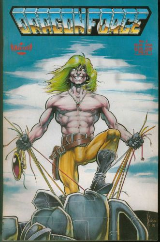 DragonForce Comic Aircel Publishing Number 2 1988