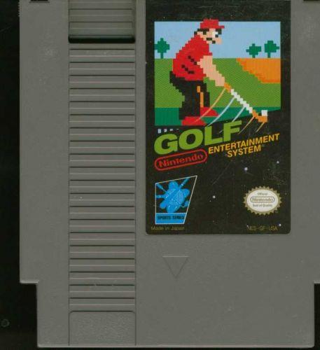 Golf Original Nintendo Game (NES) 8 bit