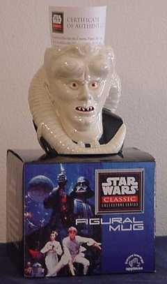 Star Wars Episode 1 Figural Mug - Bib Fortuna -1996