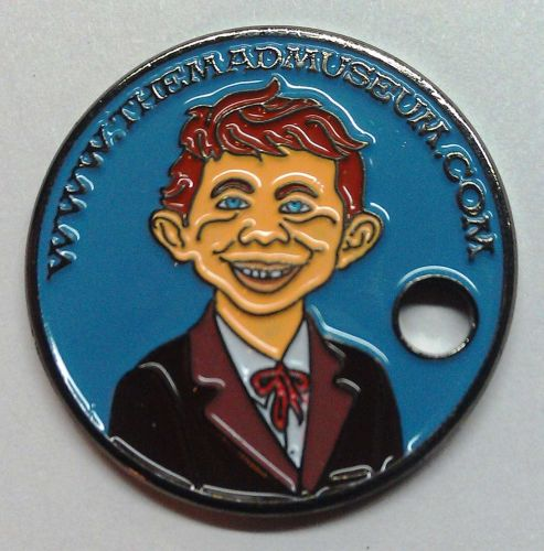 PATHTAG #26232 THE MAD MUSEUM - MAD MAGAZINE ALFRED E NEUMAN GEOCOIN CACHE