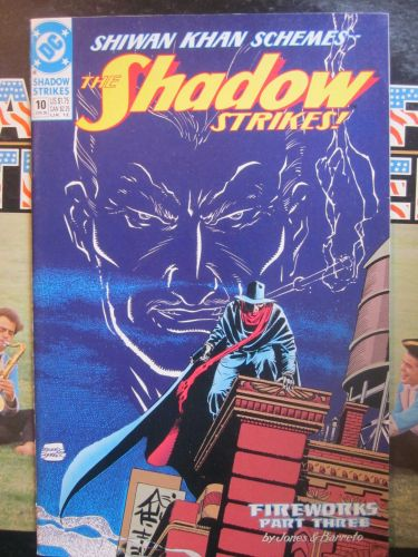 Shadow Strikes #10 NM DC COMICS