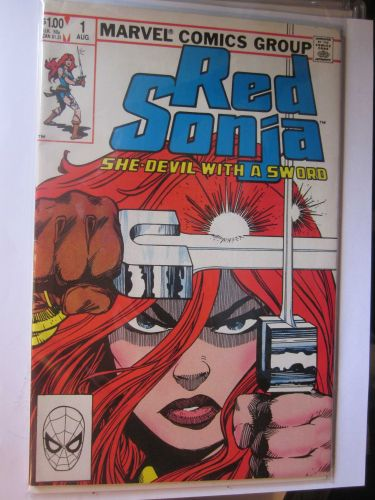 Red Sonja #1 Marvel Comics 1985