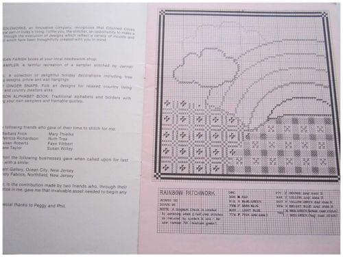 Sweet Sassafras Counted Cross Stitch Designs Patterns