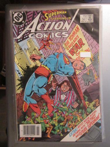 Action Comics #561 SUPERMAN nice gloss and color 1984