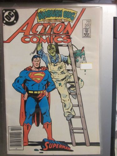 Action Comics #560 SUPERMAN nice gloss and color 1984 1st series Fine or better