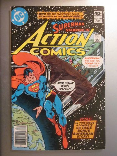 Action Comics #509 SUPERMAN nice gloss & color 1980 1st series Very Fine/NM