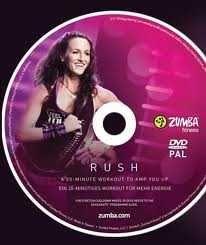 Zumba Rush DVD (Brand New)