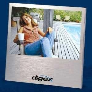 Brushed Aluminium Photo Frame 4 x 6 Photo. 2 for $9.99