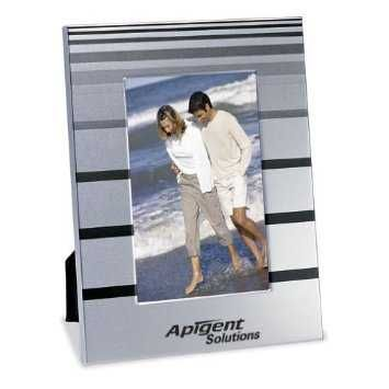 "Satin Finish 4"" x 6"" Aluminium Photo Frame. 2 for $9.99"