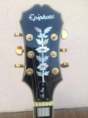 LIKE NEW Epiphone Joe Pass Emperor II Archtop Guitar, Vintage Sunburst