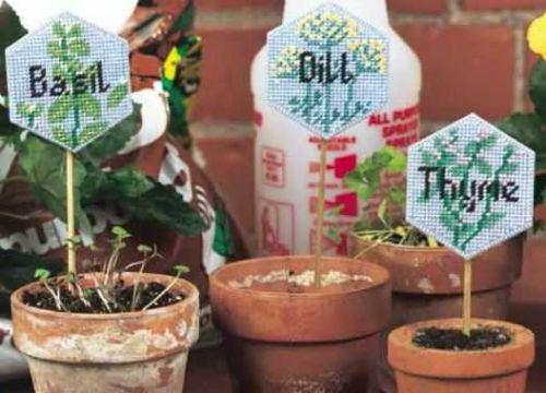 Plant Pokes Plastic Canvas PDF Pattern Digital Delivery