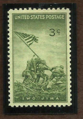 US #929 US MARINES-IWO JIMA 1945 WWII ERA Stamp
