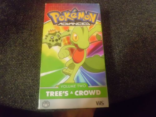 Pokemon tree's a crowd(anime vhs)
