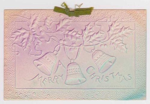 Christmas early 1900's Postcard #17