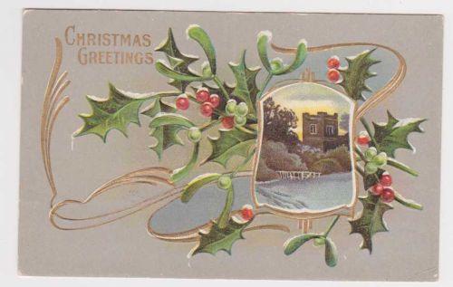 Christmas early 1900's Postcard #18