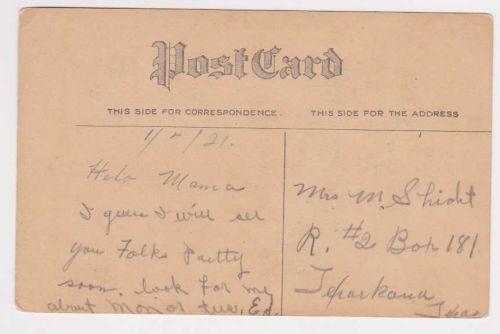 New Year or New Years early 1900's Postcard #20