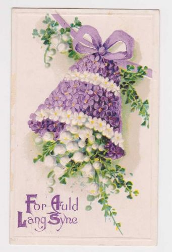 New Year or New Years early 1900's Postcard #48