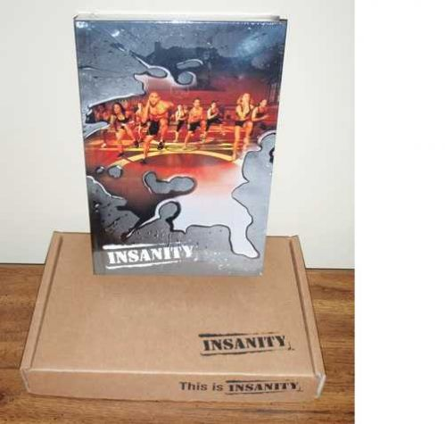 Insanity 60 day beach body 13 disc NEW! FACTORY SEALED FREE FAST SHIPPING