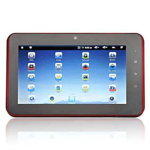 "uPad Prime: Multi-touch 7"" Capacitive Screen 1GHz CPU Android 2.3 Tablet PC"