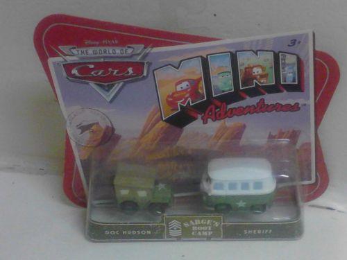 Disney Pixar Cars Sarge/Fillmore Package Error Extremely R@RE Moc!
