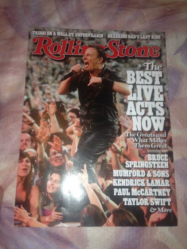 rolling stone magazine bruce springsteen jul-13 new