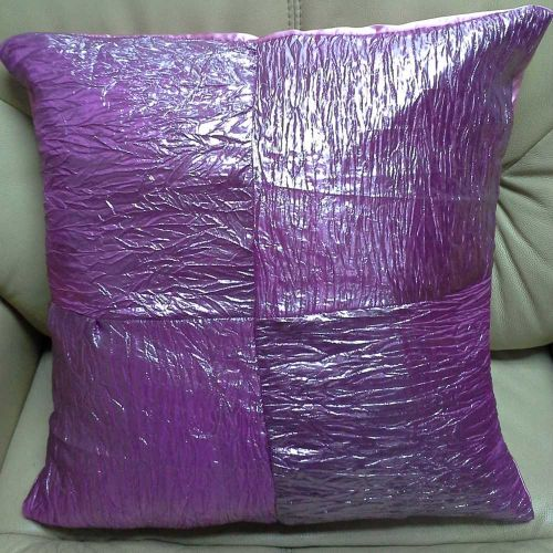 Wrinkle Pattern Satin Cushion (With Cotton Core)