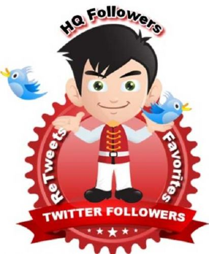 High Quality 1000 TWITTER Followers or ReTweets or Favorites, Guaranted