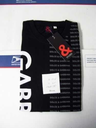 DOLCE&GABBANA cotton t-shirt new #4 free shipping