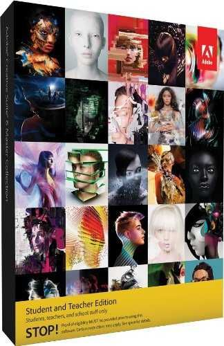 Adobe Creative Suite 6 Master Collection Student And Teacher Edition (Windows)