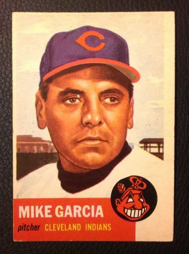 1953 Topps #75 Mike Garcia EX