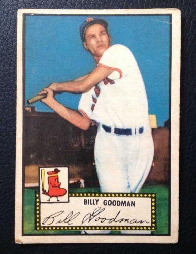 1952 Topps #23 Billy Goodman RB GOOD