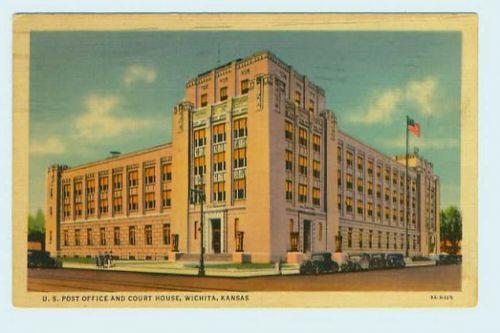 US Post Office and Court House, Wichita, Kansas