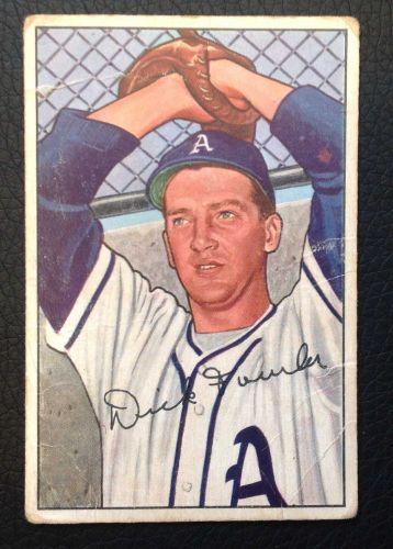 1952 Bowman #190 Dick Fowler GOOD
