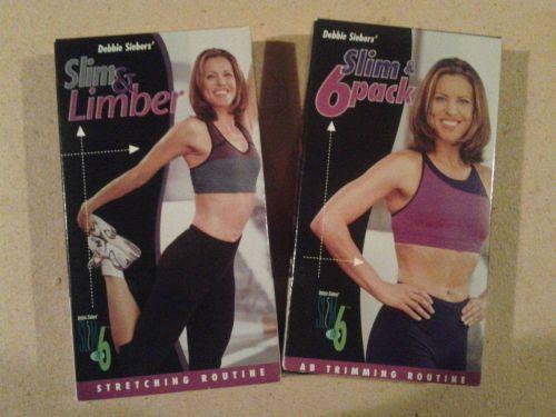 Slim in 6 Debbie Siebers VHS exercise