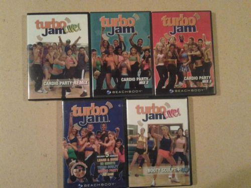 Turbo Jam Aerobic exercise Chalene Beachbody DVD