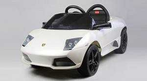 Lamborghini Murcielago Lp640 Ride on ,White - Rastar
