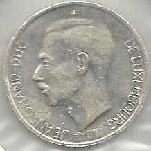 Luxemburg 10 Francs 1977 Coin
