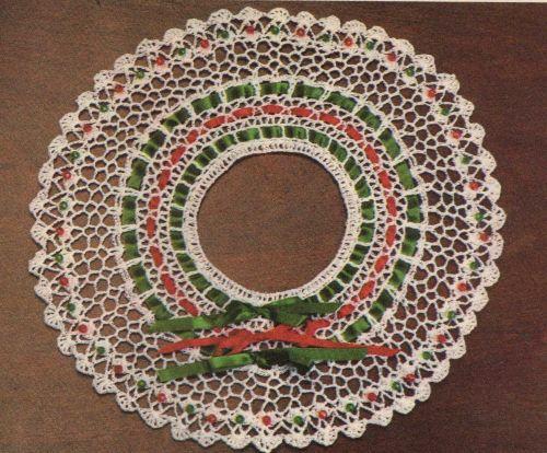 Beads & Bows Centerpiece Crochet PDF Pattern Digital Delivery