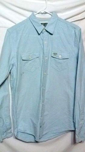 2 Mens Long Sleeve Button Down Dress Shirt Lincs Slade Wilder Size Small