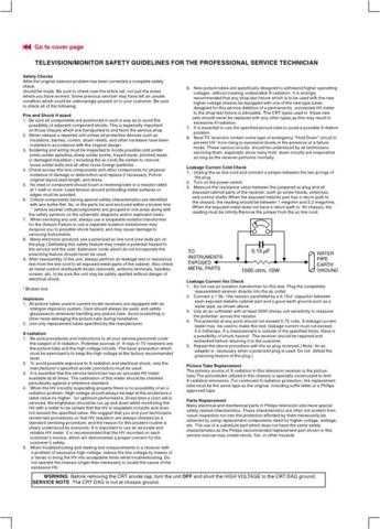 Philips LG Panel BACK COVER PAGE P86 Service Schematics by download #157166